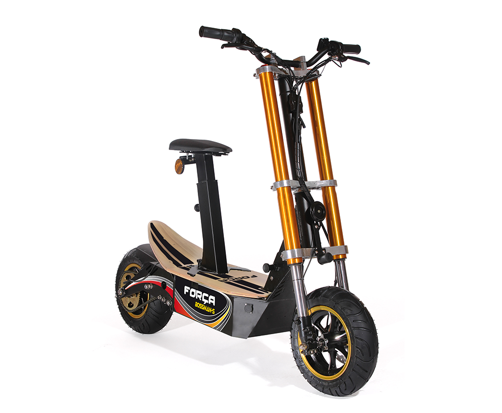 bossman it 39 s etime electrische scooters. Black Bedroom Furniture Sets. Home Design Ideas